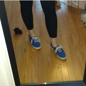 Keds royal blue shoes